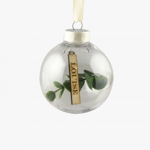 Eucalyptus Personalised Bauble